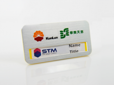 Magnet name badge
